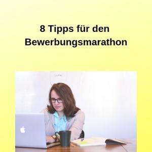 8 Tipps für den Bewerbungsmarathon