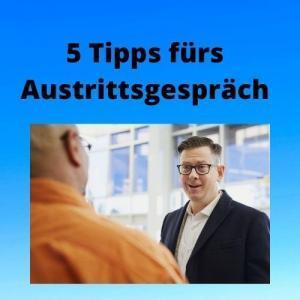 5 Tipps fürs Austrittsgespräch